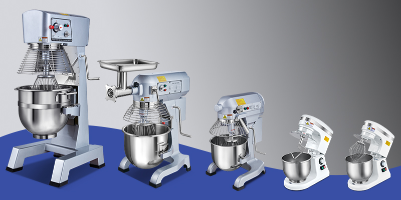Commercial planetary floor mixer